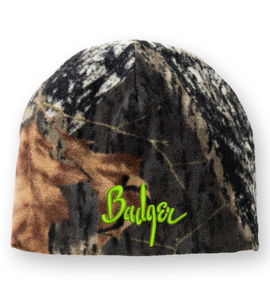 Picture of C901 - Camouflage Fleece Beanie